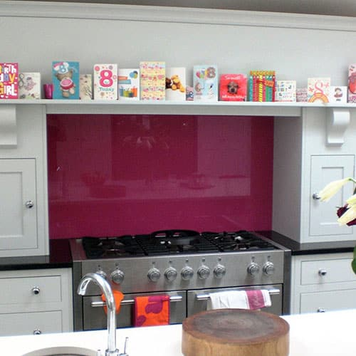 Bespoke Kitchen Mantle in Surrey featuring Mercury Range Cooker