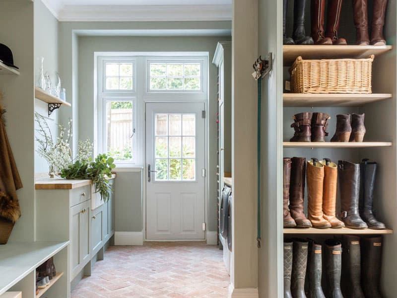 Bespoke Handmade Boot Room Designs