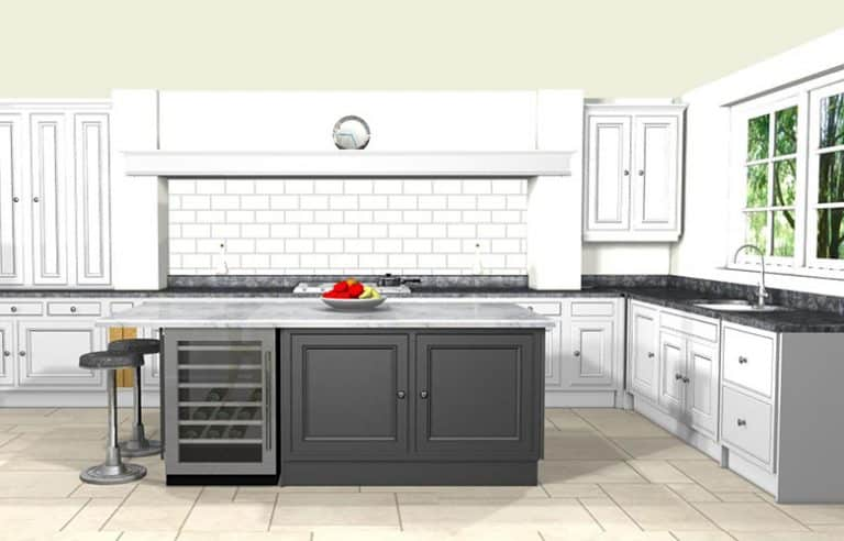 kitchen design London - Before & After